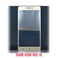 Стекло Redmi Note 4X gold
