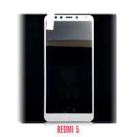Стекло Redmi 5 white