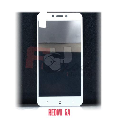 Xiaomi  Redmi 5A полное покрытие 3D-стекло для цвет рамки - белый
