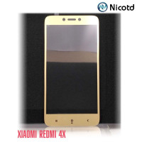 Стекло Redmi 4X gold Nicotd
