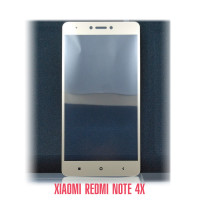 Стекло Redmi Note 4X gold