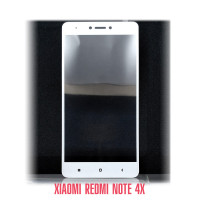 Стекло Redmi Note 4X white