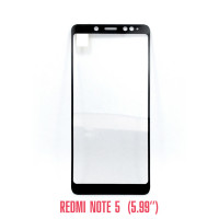 Стекло Redmi Note 5 black