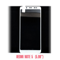 Стекло Redmi Note 5 white