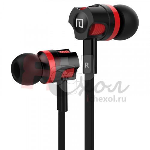 PTM JM26 SuperBass наушники с микрофоном гарнитура - цвет черный
