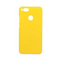 Чехол-накладка для Xiaomi Mi 5X / Mi A1 из прорезиненного пластика желтая