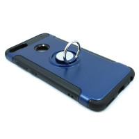 Чехол для Xiaomi Mi 5X / Mi A1 из ТПУ и пластика с кольцом синий