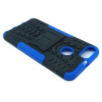 Чехол для Xiaomi Mi 5X / Mi A1 из ТПУ и пластика противоударный синий двухкомпонентный
