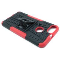 Чехол для Xiaomi Mi 5X / Mi A1 из ТПУ и пластика противоударный красный двухкомпонентный