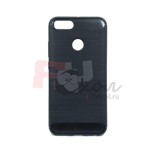 Чехол для Xiaomi Mi 5X / Mi A1  из ТПУ стилизованный под карбон черный
