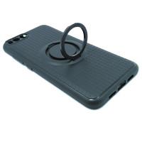 Чехол для Xiaomi Mi 6 с пластиковым черным кольцом и металлической пластиной
