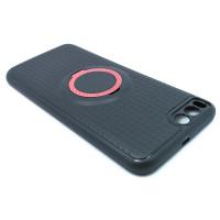 Чехол для Xiaomi Mi 6 с пластиковым розовым кольцом и металлической пластиной