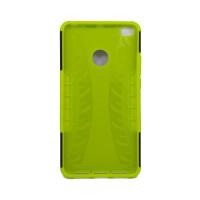 Чехол для Xiaomi Mi Max 2 из ТПУ и пластика противоударный зеленый двухкомпонентный