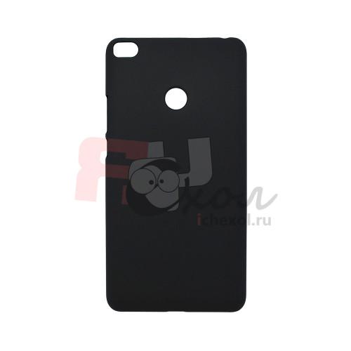 Чехол-накладка для Xiaomi Mi Max 2  из прорезиненного пластика черная