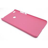 Чехол-накладка для Xiaomi Mi Max 2  из прорезиненного пластика розовый