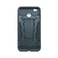 Чехол для Xiaomi Redmi 4X из ТПУ и пластика Ironman (Железный человек) черный