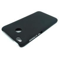 Чехол-накладка для Xiaomi Redmi 4X  из прорезиненного пластика черная