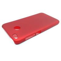 Чехол-накладка для Xiaomi Redmi 4X  из прорезиненного пластика красно-золотистая