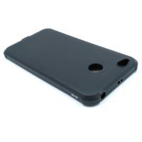 Чехол для Xiaomi Redmi 4X  из жесткого ТПУ антишок уплотнения по углам черный