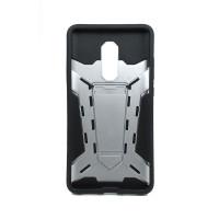 Чехол для Xiaomi Redmi Note 4X из ТПУ и пластика Ironman (Железный человек) серебро