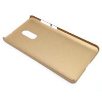 Чехол-накладка для Xiaomi Redmi Note 4X  из прорезиненного пластика золото