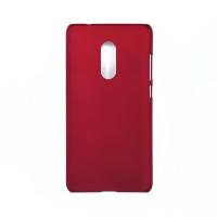 Чехол-накладка для Xiaomi Redmi Note 4X  из прорезиненного пластика красный