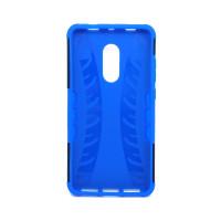Чехол для Xiaomi Redmi Note 4X из ТПУ и пластика противоударный синий