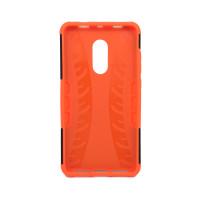 Чехол для Xiaomi Redmi Note 4X из ТПУ и пластика противоударный оранжевый