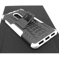 Чехол для Xiaomi Redmi Note 4X из ТПУ и пластика противоударный белый