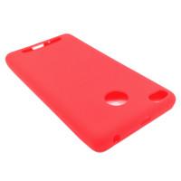 Чехол для Xiaomi Redmi 3S из ТПУ матовый красный