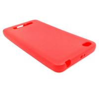 Чехол для Xiaomi Redmi 4A из ТПУ матовый красный