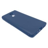 Чехол для Xiaomi Redmi 4 из ТПУ матовый синий