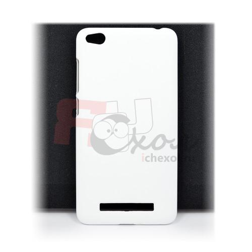 Чехол-накладка для Xiaomi Redmi 4A из прорезиненного пластика белая