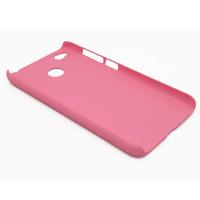 Чехол-накладка для Xiaomi Redmi 4X  из прорезиненного пластика розовая