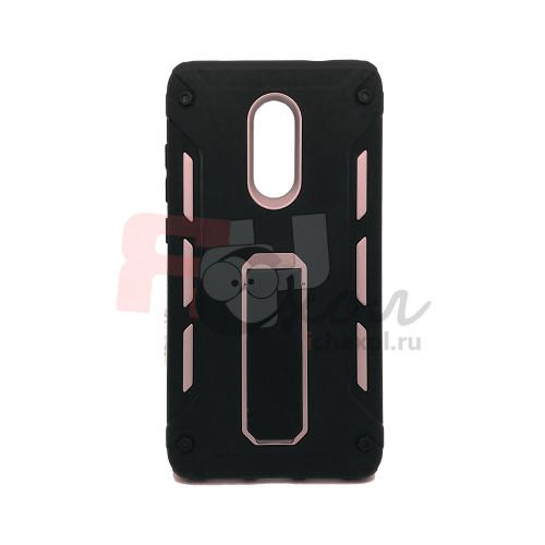 Чехол для Xiaomi Redmi Note 4X из ТПУ и пластика Panzer Inside розовый