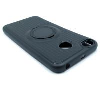 Чехол для Xiaomi Redmi 4X  с пластиковым черным кольцом и металлической пластиной