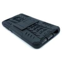 Чехол для Xiaomi Redmi 4X из ТПУ и пластика противоударный черный