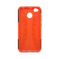 Чехол для Xiaomi Redmi 4X из ТПУ и пластика противоударный оранжевый