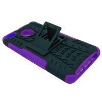 Чехол для Xiaomi Redmi 4X из ТПУ и пластика противоударный фиолетовый