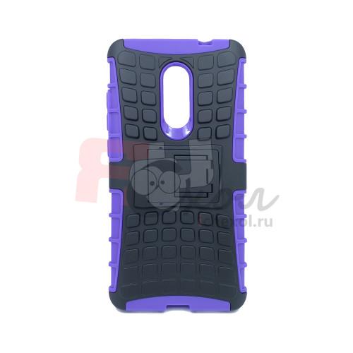 Чехол для Xiaomi Redmi Note 4X из ТПУ и пластика противоударный Panzer фиолетовый