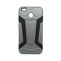 Чехол для Xiaomi Redmi 4X из ТПУ и пластика Ironman (Железный человек) серый