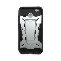 Чехол для Xiaomi Redmi 4X из ТПУ и пластика Ironman (Железный человек) серебро