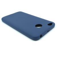 Чехол для Xiaomi Redmi 4X  из ТПУ  матовый синий