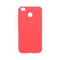 Чехол для Xiaomi Redmi 4X  из ТПУ матовый красный