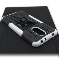 Чехол для Xiaomi Redmi 5 из ТПУ-резины и пластика противоударный белый