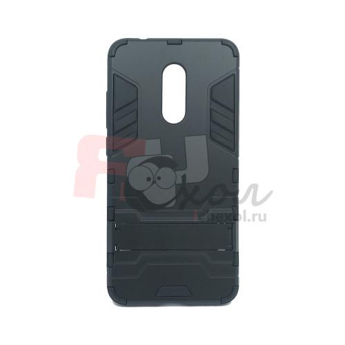 Чехол для Xiaomi Redmi 5 из ТПУ и пластика Ironman2 (Железный человек) черный