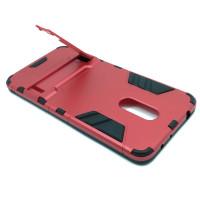 Чехол для Xiaomi Redmi 5 из ТПУ и пластика Ironman2 (Железный человек) красный