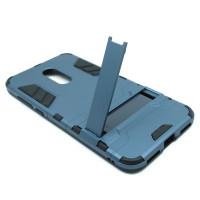 Чехол для Xiaomi Redmi 5 Plus из ТПУ и пластика Ironman2 (Железный человек) синий