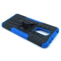 Чехол для Xiaomi Redmi 5 Plus из ТПУ-резины и пластика противоударный синий