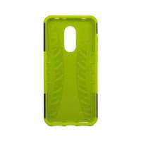 Чехол для Xiaomi Redmi 5 Plus из ТПУ-резины и пластика противоударный зеленый